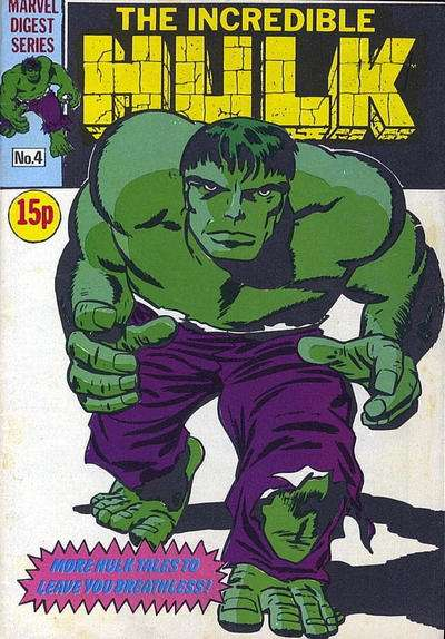 Hulk Pocket Book #4 comic books - cover scans photos Hulk Pocket Book #4 comic books - covers, picture gallery