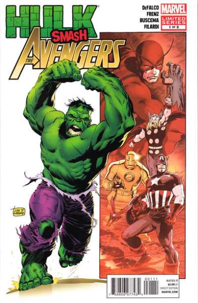 Hulk Smash Avengers comic books