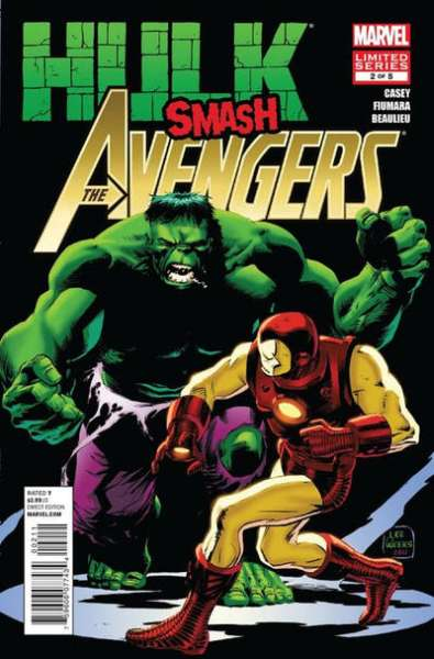 Hulk Smash Avengers #2 comic books - cover scans photos Hulk Smash Avengers #2 comic books - covers, picture gallery