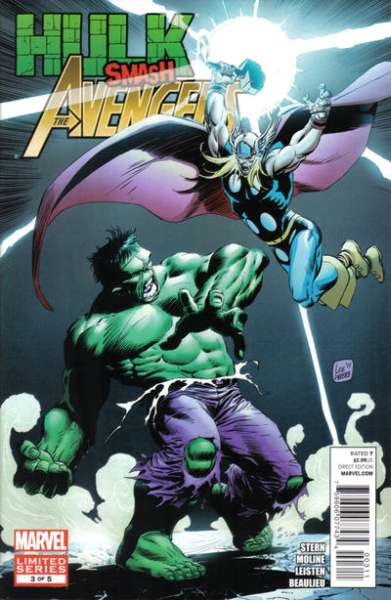 Hulk Smash Avengers #3 comic books - cover scans photos Hulk Smash Avengers #3 comic books - covers, picture gallery