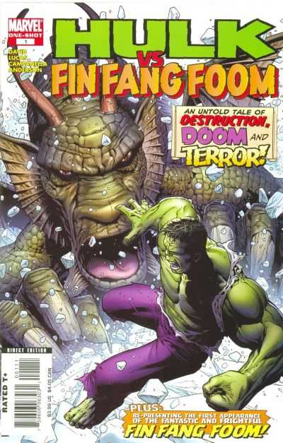 Hulk vs. Fin Fang Foom #1 comic books - cover scans photos Hulk vs. Fin Fang Foom #1 comic books - covers, picture gallery