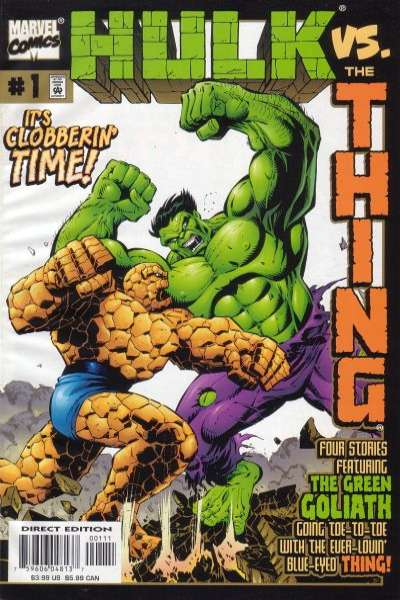 Hulk vs. Thing comic books