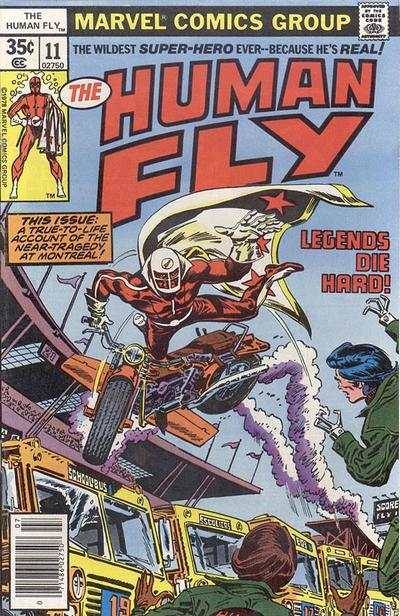 Human Fly #11 comic books for sale
