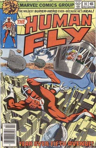 Human Fly #14 comic books for sale