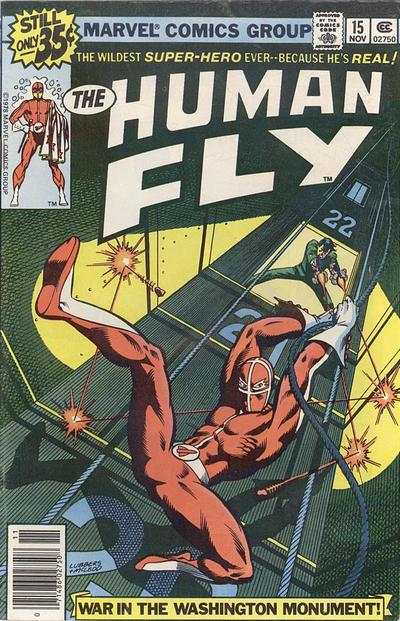 Human Fly #15 comic books for sale