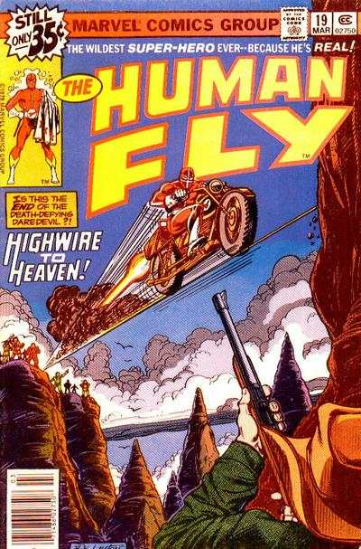Human Fly #19 comic books for sale