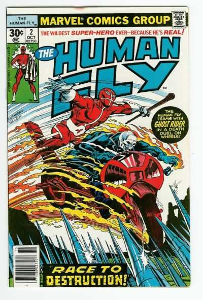 Human Fly #2 comic books for sale