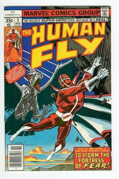 Human Fly #3 comic books for sale
