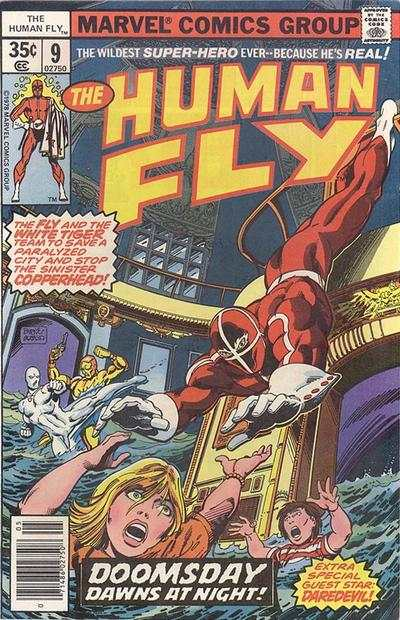 Human Fly #9 comic books for sale