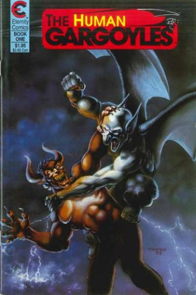 Human Gargoyles comic books