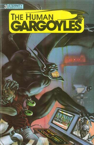 Human Gargoyles #3 Comic Books - Covers, Scans, Photos  in Human Gargoyles Comic Books - Covers, Scans, Gallery