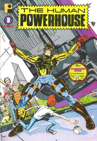Human Powerhouse Comic Books. Human Powerhouse Comics.