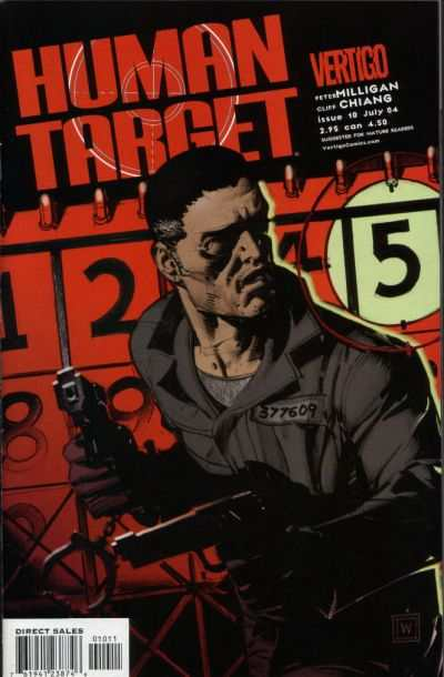 Human Target #10 comic books - cover scans photos Human Target #10 comic books - covers, picture gallery