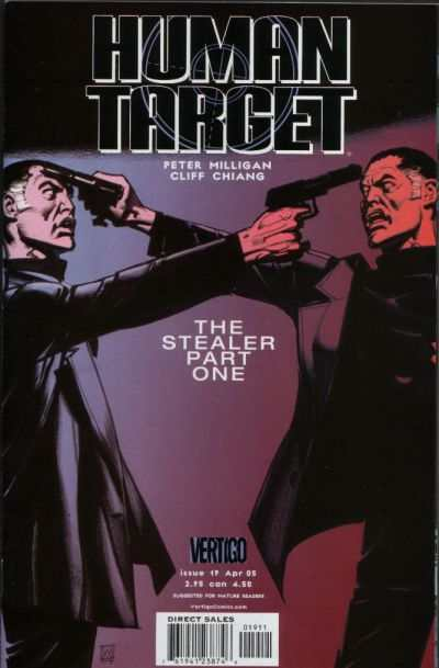 Human Target #19 comic books for sale