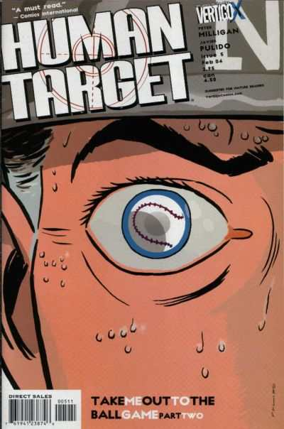Human Target #5 comic books - cover scans photos Human Target #5 comic books - covers, picture gallery