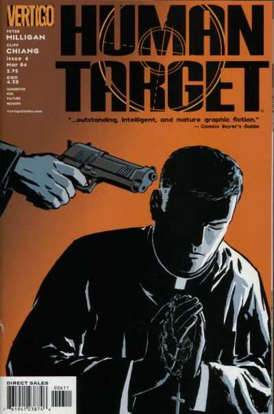 Human Target #6 comic books - cover scans photos Human Target #6 comic books - covers, picture gallery