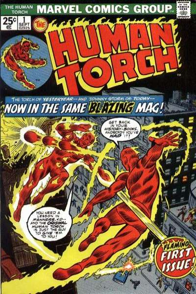 Human Torch comic books