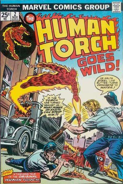 Human Torch #2 comic books for sale