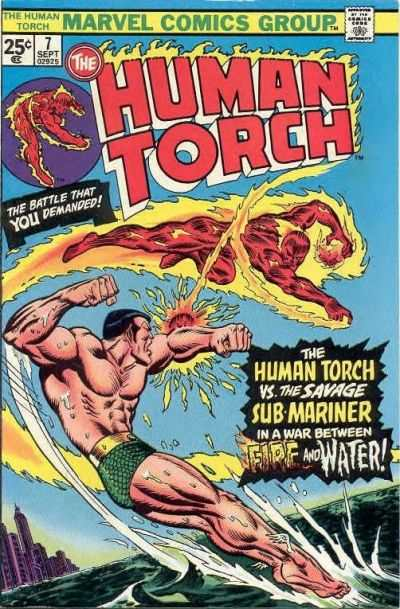 Human Torch #7 comic books for sale