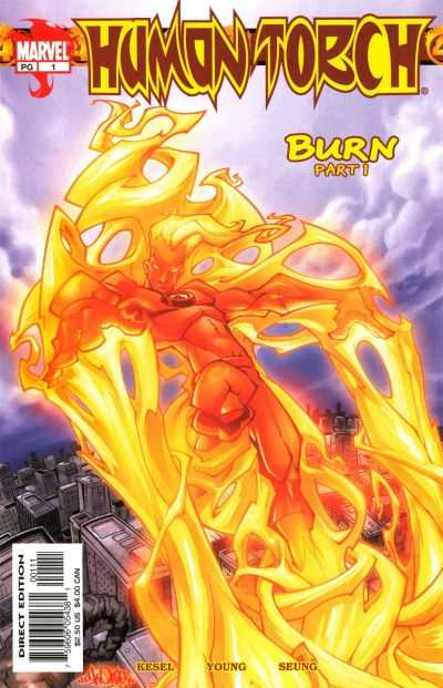 Human Torch #1 Comic Books - Covers, Scans, Photos  in Human Torch Comic Books - Covers, Scans, Gallery
