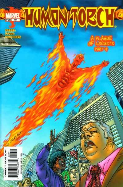 Human Torch #10 comic books - cover scans photos Human Torch #10 comic books - covers, picture gallery