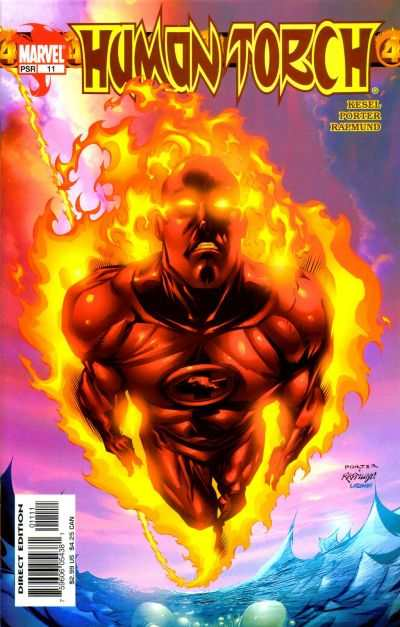 Human Torch #11 comic books - cover scans photos Human Torch #11 comic books - covers, picture gallery