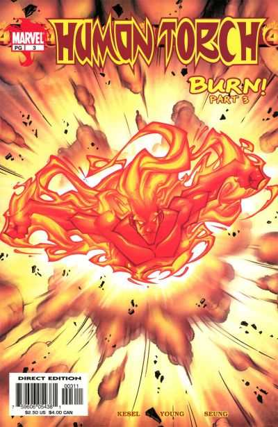 Human Torch #3 comic books - cover scans photos Human Torch #3 comic books - covers, picture gallery
