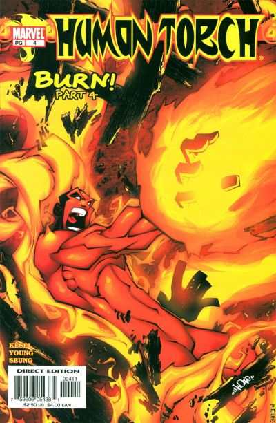 Human Torch #4 comic books - cover scans photos Human Torch #4 comic books - covers, picture gallery