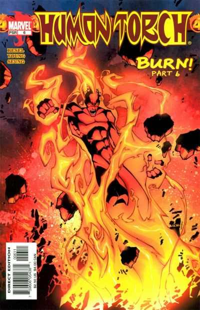 Human Torch #6 comic books - cover scans photos Human Torch #6 comic books - covers, picture gallery