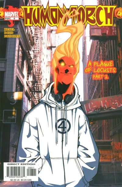 Human Torch #8 comic books - cover scans photos Human Torch #8 comic books - covers, picture gallery