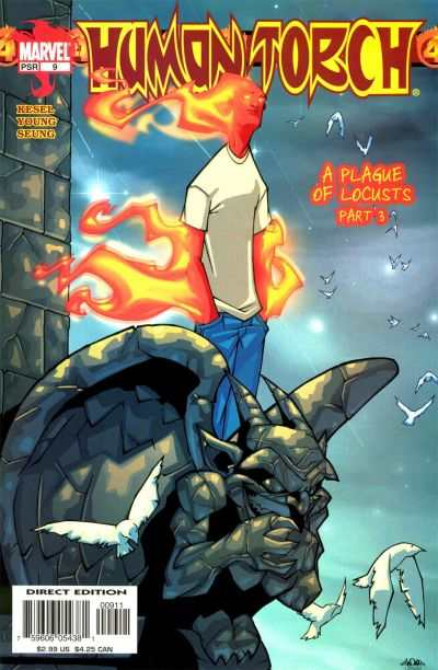 Human Torch #9 comic books - cover scans photos Human Torch #9 comic books - covers, picture gallery
