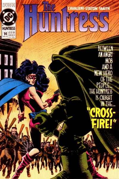 Huntress #14 Comic Books - Covers, Scans, Photos  in Huntress Comic Books - Covers, Scans, Gallery
