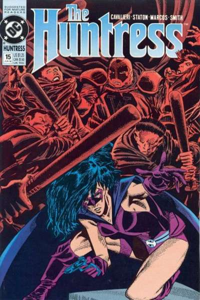 Huntress #15 Comic Books - Covers, Scans, Photos  in Huntress Comic Books - Covers, Scans, Gallery