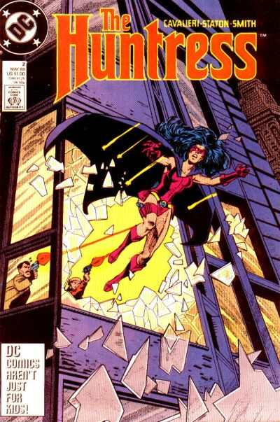 Huntress #2 Comic Books - Covers, Scans, Photos  in Huntress Comic Books - Covers, Scans, Gallery