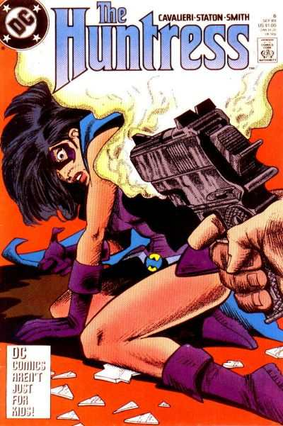Huntress #6 Comic Books - Covers, Scans, Photos  in Huntress Comic Books - Covers, Scans, Gallery