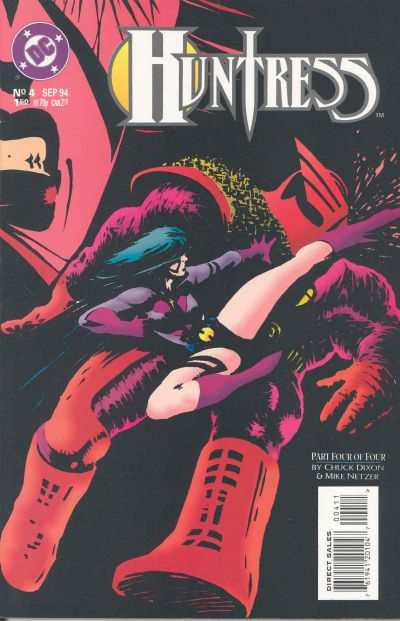Huntress #4 Comic Books - Covers, Scans, Photos  in Huntress Comic Books - Covers, Scans, Gallery