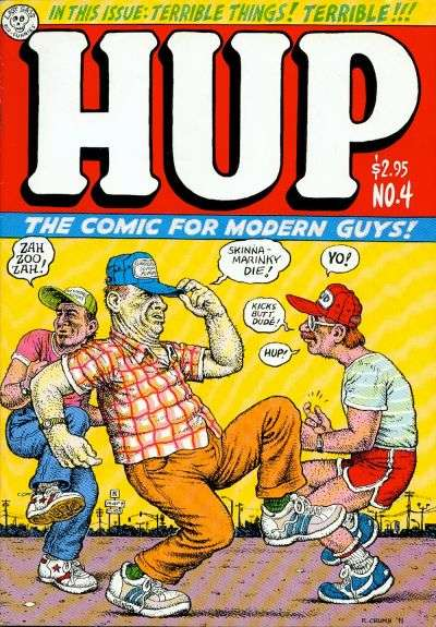 Hup #4 comic books for sale