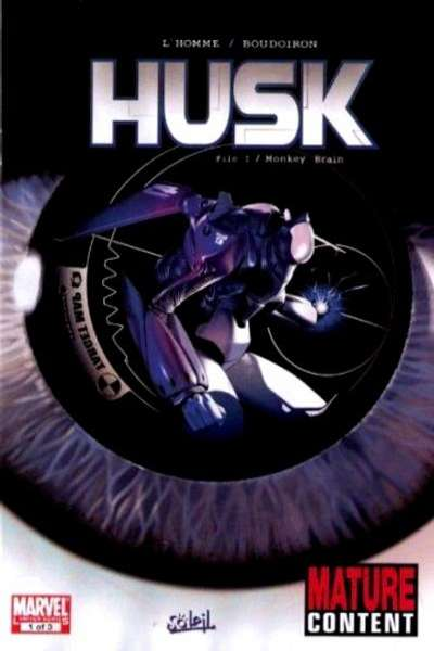 Husk #1 comic books - cover scans photos Husk #1 comic books - covers, picture gallery