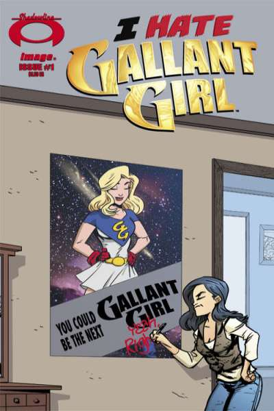 I Hate Gallant Girl comic books