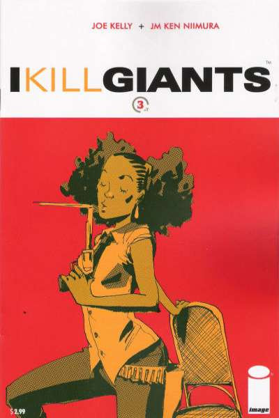 I Kill Giants #3 Comic Books - Covers, Scans, Photos  in I Kill Giants Comic Books - Covers, Scans, Gallery