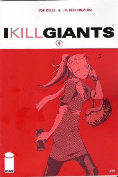 I Kill Giants #4 comic books - cover scans photos I Kill Giants #4 comic books - covers, picture gallery