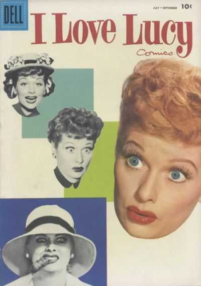 I Love Lucy #16 Comic Books - Covers, Scans, Photos  in I Love Lucy Comic Books - Covers, Scans, Gallery