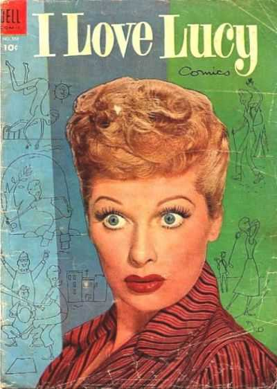 I Love Lucy comic books