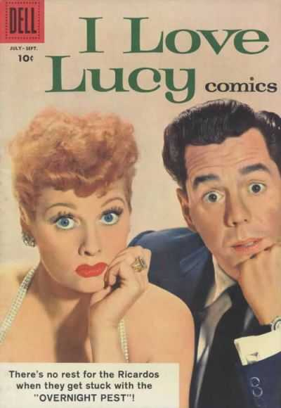 I Love Lucy #20 Comic Books - Covers, Scans, Photos  in I Love Lucy Comic Books - Covers, Scans, Gallery