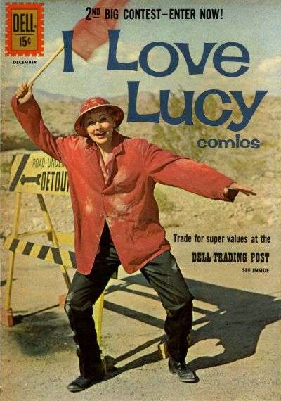 I Love Lucy #33 comic books for sale