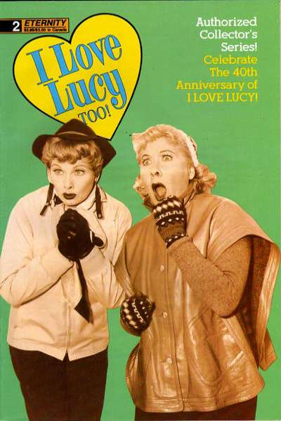 I Love Lucy Too! #2 comic books for sale