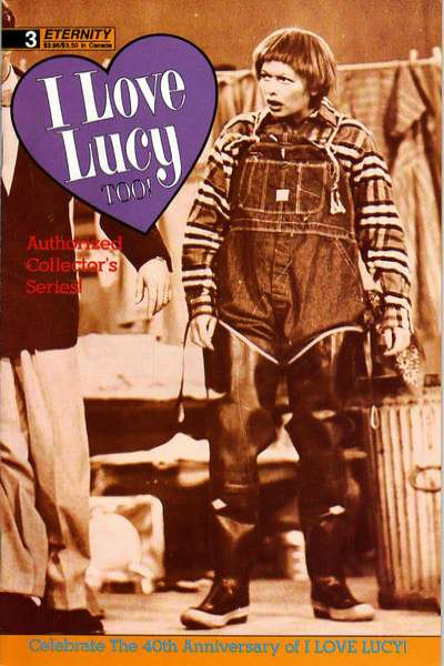 I Love Lucy Too! #3 comic books for sale