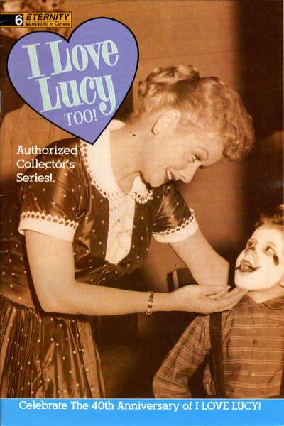 I Love Lucy Too! #6 comic books for sale