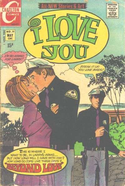 I Love You #91 comic books for sale