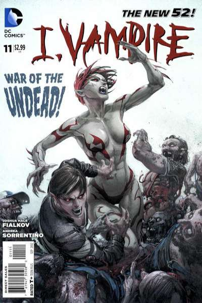I Vampire #11 comic books for sale